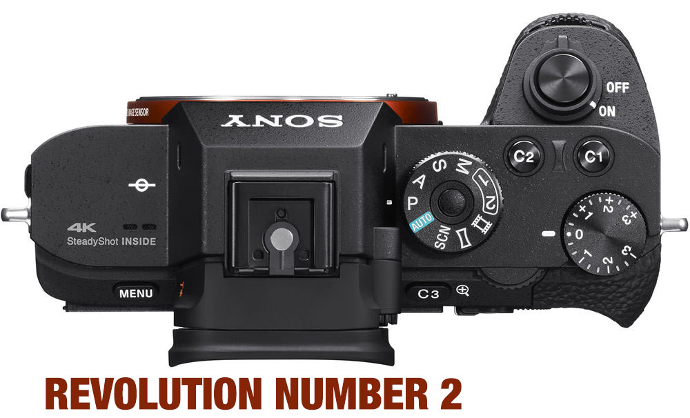 Sony annuncia nuove fotocamere mirrorless - revolution number 2