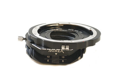 Mirex Tilt & Shift adapter per Mamiya M645